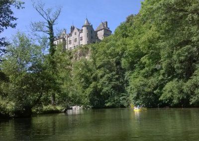 Descente de la Lesse en kayak
